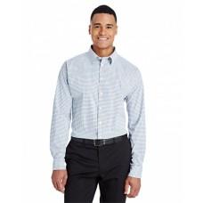 DG540 CrownLux Performance™ Men's Micro Windowpane Shirt - Devon & Jones Mens Woven Shirts