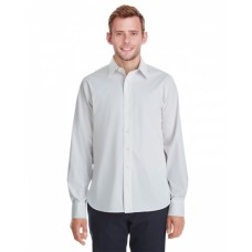 DG561 Men's Crown  Collection™ Stretch Broadcloth Untucked Shirt - Devon & Jones Mens Woven Shirts