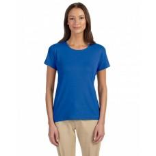 DP182W Ladies' Perfect Fit™ Shell T-Shirt - Devon & Jones Womens T Shirts