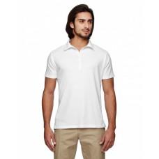 EC2505 Men's 4.4 oz., 100% Organic Cotton Jersey Short-Sleeve Polo - econscious Mens Polo Shirts