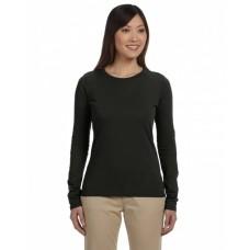 EC3500 Ladies' 100% Organic Cotton Classic Long-Sleeve T-Shirt - econscious Womens T Shirts