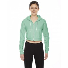 Ladies' Cropped Flex Fleece Zip Hoodie