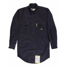 FRSH10T Men's Tall Flame-Resistant Button Down Work Shirt - Berne Mens Woven Shirts