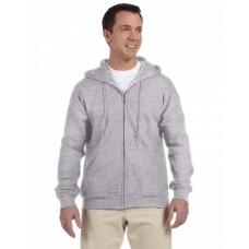 G126 Adult DryBlend® Adult 9 oz., 50/50 Full-Zip Hooded Sweatshirt - Gildan Hooded Sweatshirts