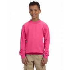 G180B Youth Heavy Blend™ 50/50 Fleece Crew - Gildan Fleece Shirts