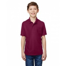 G458B Performance® Youth 5.6 oz. Double Pique Polo - Gildan Polo Shirts