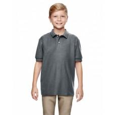 G728B Youth Double Piqué Polo - Gildan Polo Shirts