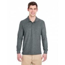 G729 Adult 6 oz. Double Piqué Long-Sleeve Polo - Gildan Polo Shirts
