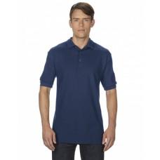 G828 Adult Premium Cotton® Adult 6.6oz. Double Piqué Polo - Gildan Polo Shirts
