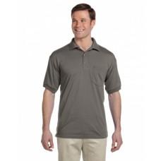 G890 Adult 50/50 Jersey Polo with Pocket - Gildan Polo Shirts