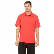 M1709 Unisex Performance Three-Button Mesh Polo - All Sport Polo Shirts