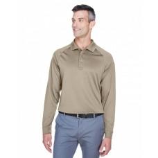 M211L Men's Advantage Snag Protection Plus Long-Sleeve Tactical Polo - Harriton Mens Polo Shirts