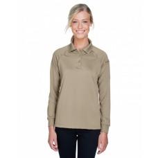 M211LW Ladies' Advantage Snag Protection Plus Long-Sleeve Tactical Polo - Harriton Women Polo Shirts