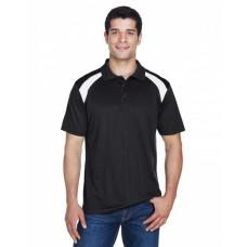 M318 Adult 4 oz. Polytech Colorblock Polo - Harriton Polo Shirts