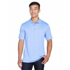 M345 Men's Advantage Snag Protection Plus IL Snap Placket Polo - Harriton Mens Polo Shirts