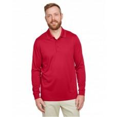 M348LT Men's Tall Advantage Long Sleeve Snag Protection Plus IL Polo - Harriton Mens Polo Shirts