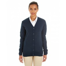 M425W Ladies' Pilbloc™ V-Neck Button Cardigan Sweater - Harriton Womens Sweaters