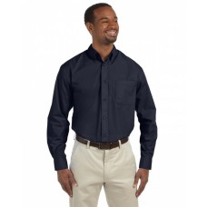 M510 Men's 3.1 oz. Essential Poplin - Harriton Mens Woven Shirts