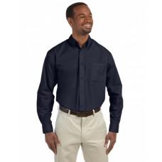 M510T Men's Tall 3.1 oz. Essential Poplin - Harriton Mens Woven Shirts