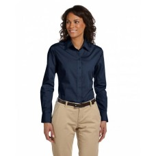 M510W Ladies' 3.1 oz. Essential Poplin - Harriton Women Woven Shirts