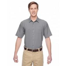 M610S Men's Paradise Short-Sleeve Performance Shirt - Harriton Mens Woven Shirts