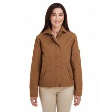M705W Ladies' Auxiliary Canvas Work Jacket - Harriton Womens Jackets