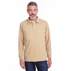 M709 Adult StainBloc™ Pique Fleece Pullover Jacket - Harriton Jackets
