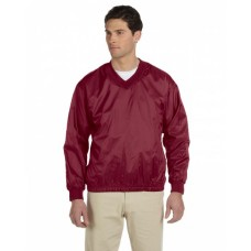 M720 Athletic V-Neck Pullover Jacket - Harriton Jackets