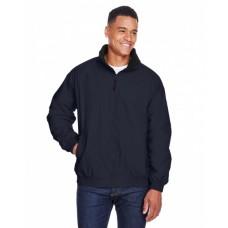 M740 Adult Fleece-Lined Nylon Jacket - Harriton Jackets