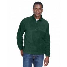 M980 Adult 8 oz. Quarter-Zip Fleece Pullover - Harriton Jackets