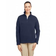 N17397 Ladies' Anchor Quarter-Zip Pullover - Nautica Womens Sweatshirts