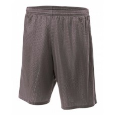 A4 N5296 Adult Nine Inch Inseam Mesh Short