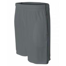A4 N5340 Shorts - Men's Flat Back Mesh Shorts w/ Contrast Stitching