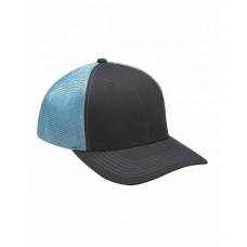 PR102 Brushed Cotton/Soft Mesh Trucker Cap - Adams Caps