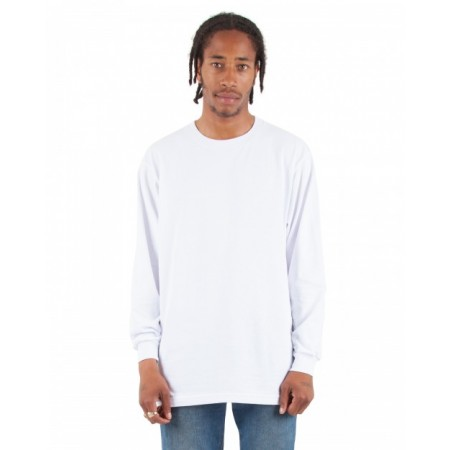 SHALS Adult 6 oz., Active Long-Sleeve T-Shirt - Shaka Wear Drop Ship T Shirts
