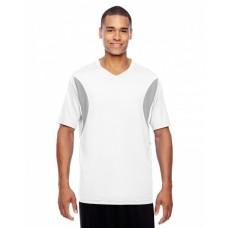 TT10 Men's Short-Sleeve Athletic V-Neck Tournament Jersey - Team 365 Men Shirts