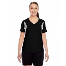 TT10W Ladies' Short-Sleeve Athletic V-Neck Tournament Jersey - Team 365 Women Shirts