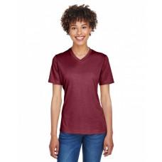 TT11HW Ladies' Sonic Heather Performance T-Shirt - Team 365 Womens T Shirts