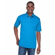 U8315 Men's PlatinumPerformance Piqué Polo with TempControl Technology - UltraClub Mens Polo Shirts