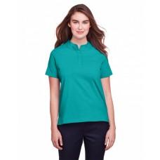 UC105W Ladies' Lakeshore Stretch Cotton Performance Polo - UltraClub Women Polo Shirts
