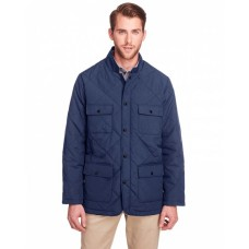 UC708 Men's Dawson Quilted Hacking Jacket - UltraClub Mens Jackets