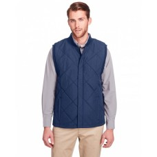UC709 Men's Dawson Quilted Hacking Vest - UltraClub Mens Vests