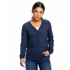 US950 Ladies' 4.9 oz. Long-Sleeve Cardigan - US Blanks Womens Cardigans