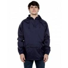 WB107BG Unisex Nylon Packable Pullover Anorak Jacket - Beimar Drop Ship Jackets