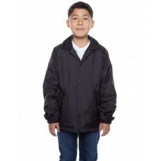 WBY105 Unisex Youth Nylon Coaches Jacket - Beimar Drop Ship Jackets