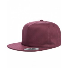 Y6502 Adult Unstructured 5-Panel Snapback Cap - Yupoong Caps