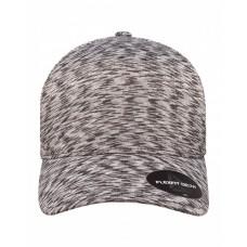 YP280 Flexfit Delta® Adult Melange Seamless Unipanel Cap - Yupoong Caps