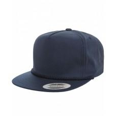 YP6002 Classic Poplin Golf Snapback - Yupoong Snapback Caps